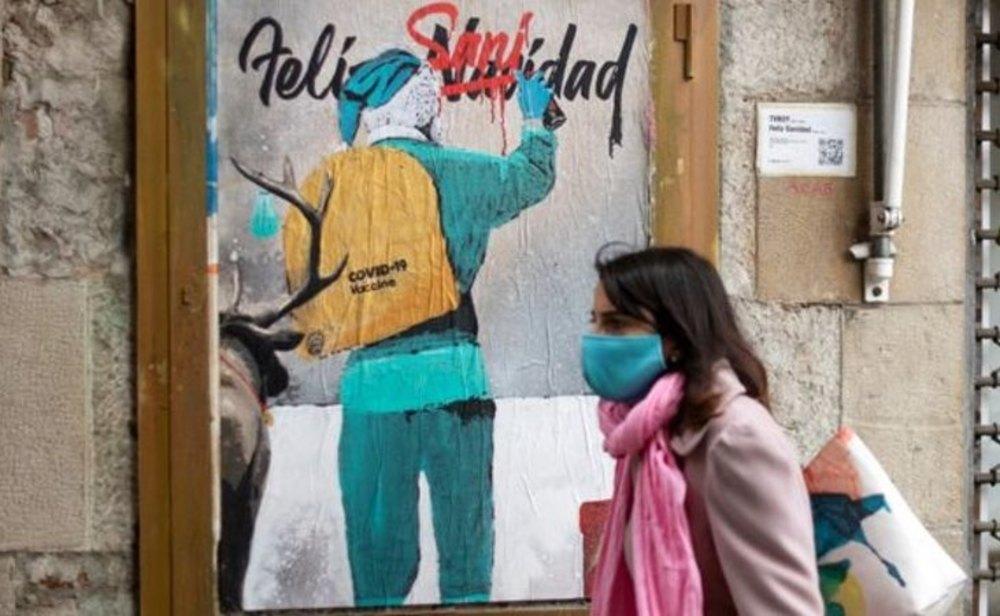 España despide el 2020 con 1.928.265 casos totales de coronavirus desde que empezó la pandemia