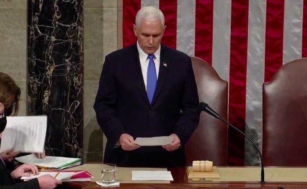 El Congreso de EEUU ratifica a Joe Biden