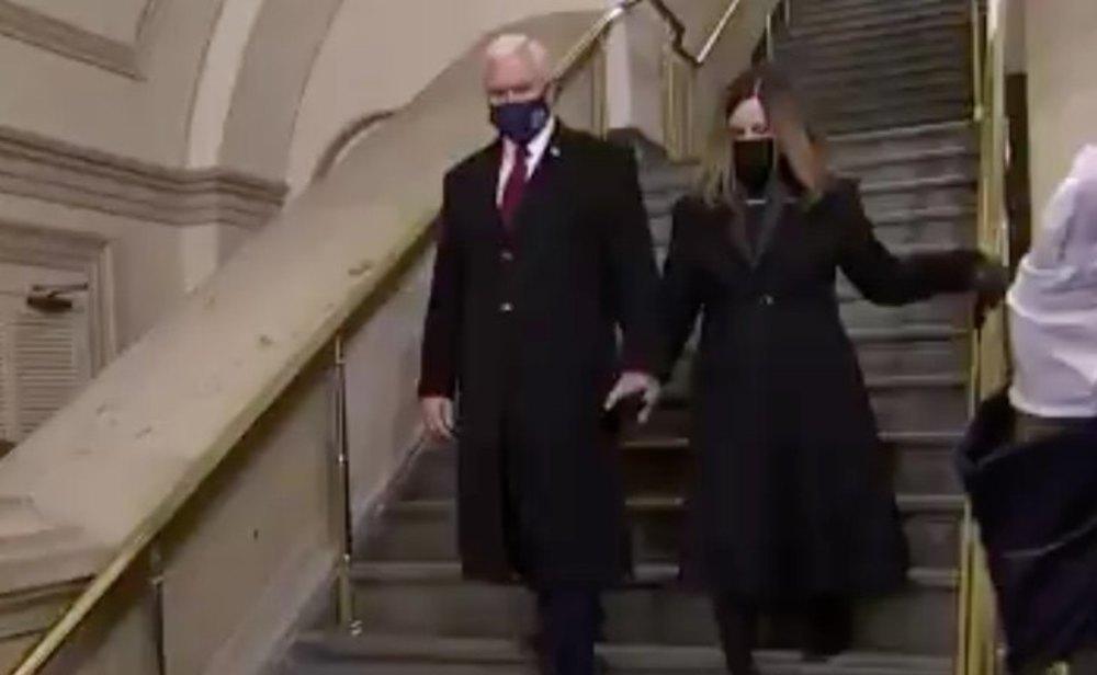 Mike Pence ya está en el Capitolio