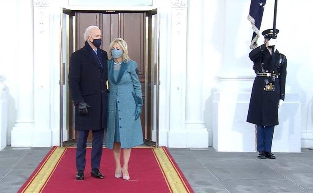 Biden y su esposa ya están en la Casa Blanca