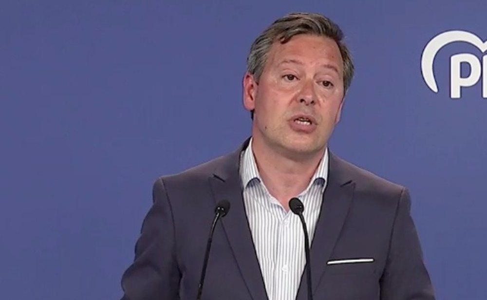 Alfonso Serrano, jefe de campaña del PP