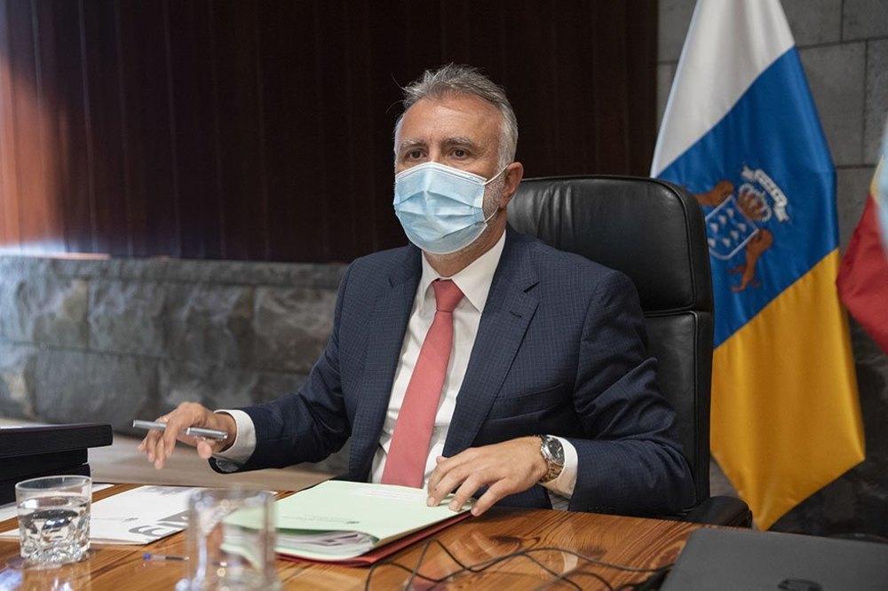El presidente canario, Ángel Víctor Torres