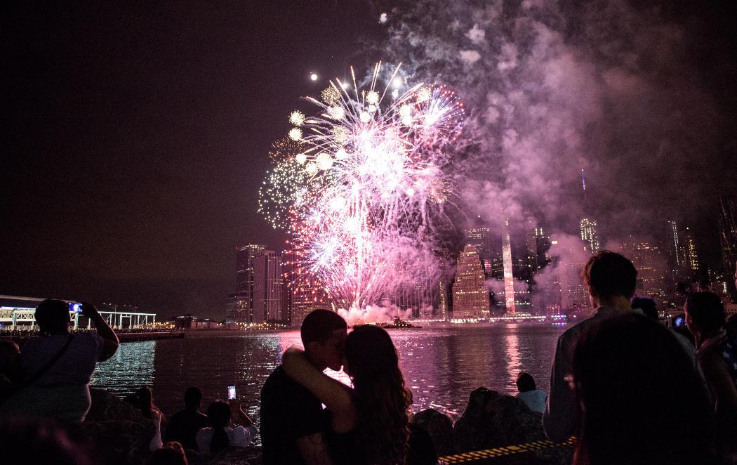 El NY más romántico en el 4 de julio
