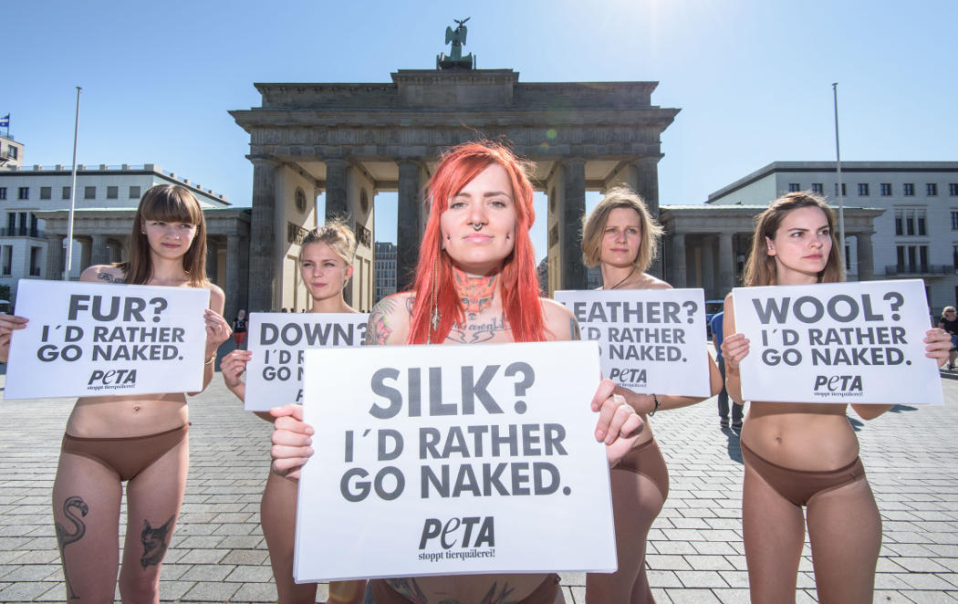 Prefiero ir desnuda