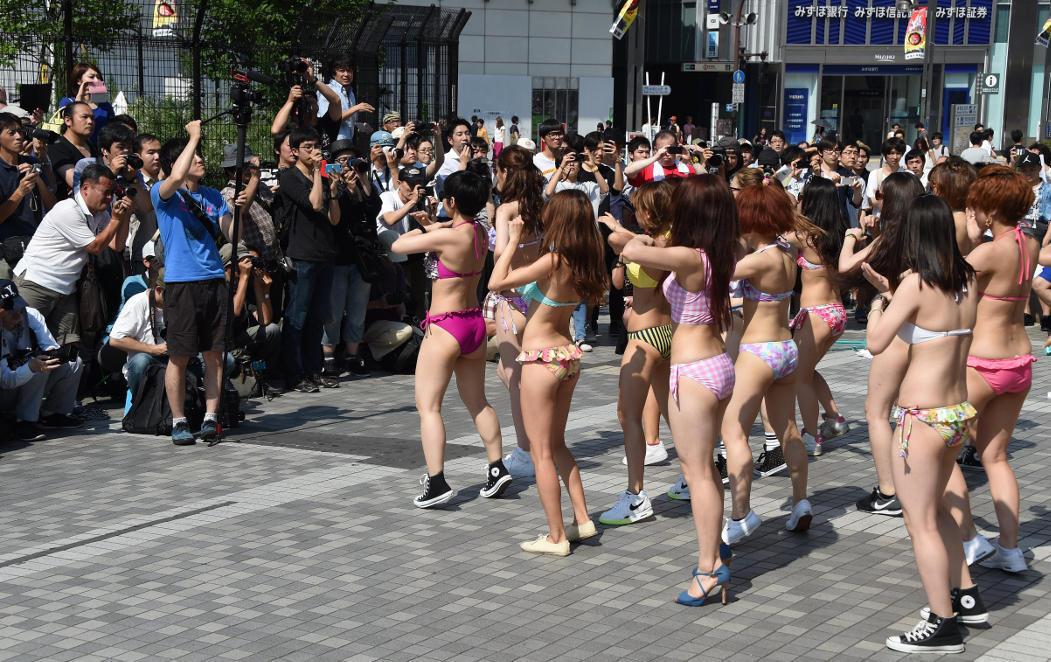 El flashmob que nunca verías en occidente