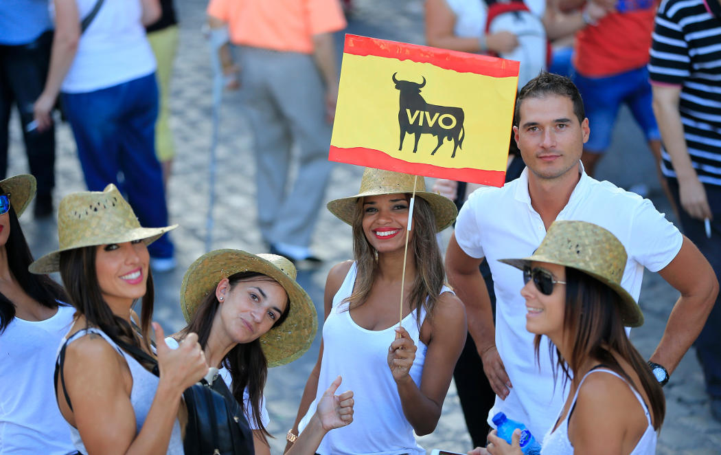 España contra el Toro de la Vega