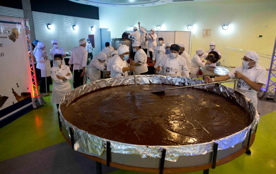 La moneda de chocolate más grande del mundo