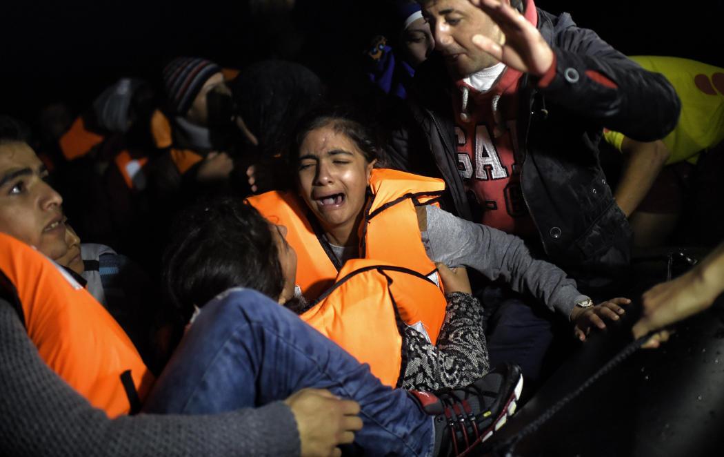 Sólo queríamos recordar que siguen llegando refugiados a Europa