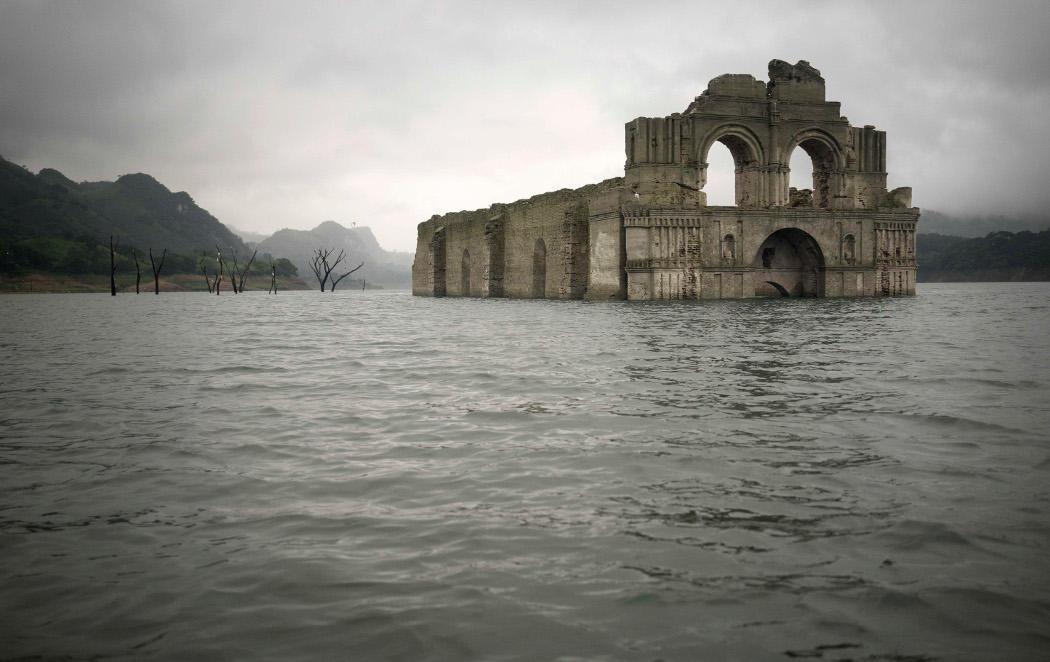 Aparecen las ruinas de una iglesia del s.XVI