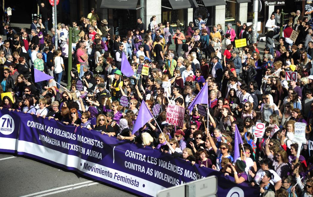Contra la violencia machista #7NFeminista