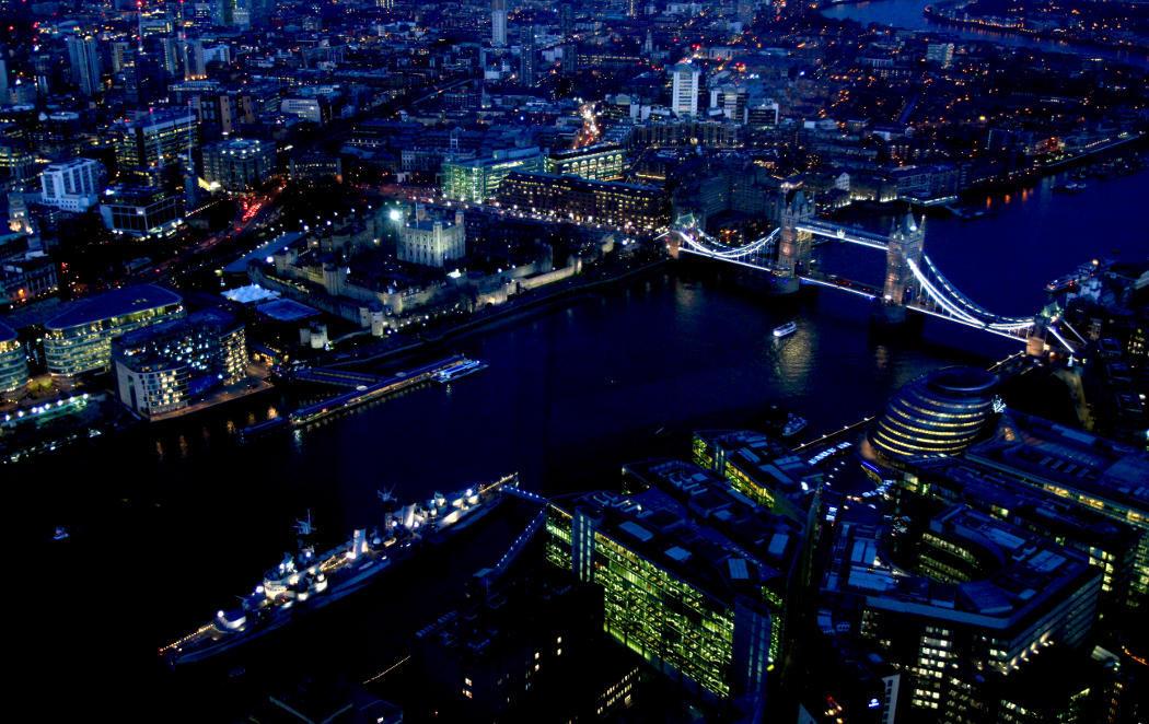 Londres desde el cielo