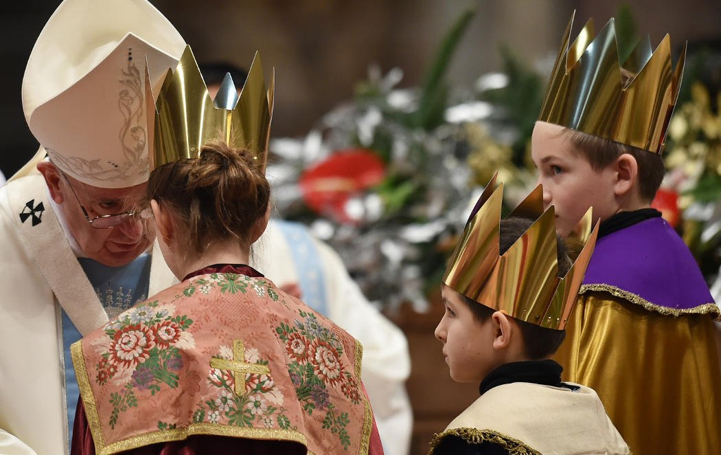 ¡Reinas Magas en el Vaticano!