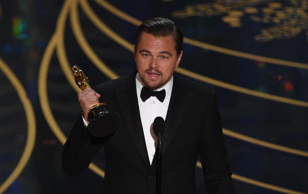 Leonardo DiCaprio... ¡Ya era hora!