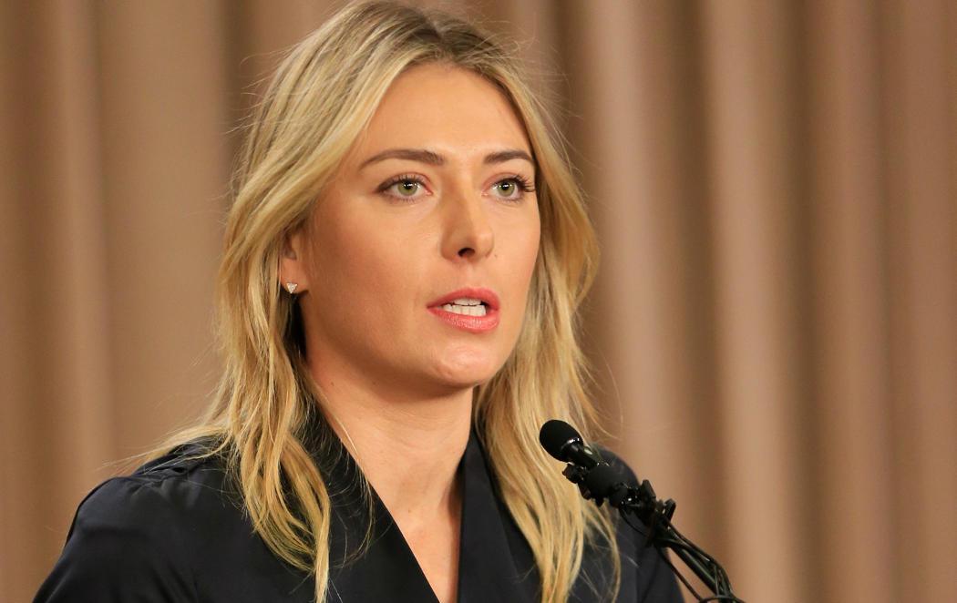 Sharapova hace público que dio positivo en Australia