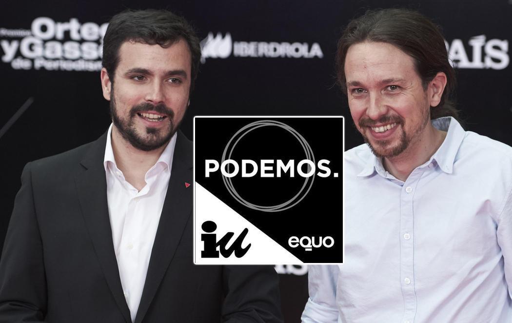 Desvelado el logotipo de Unidos Podemos que se verá en las papeletas