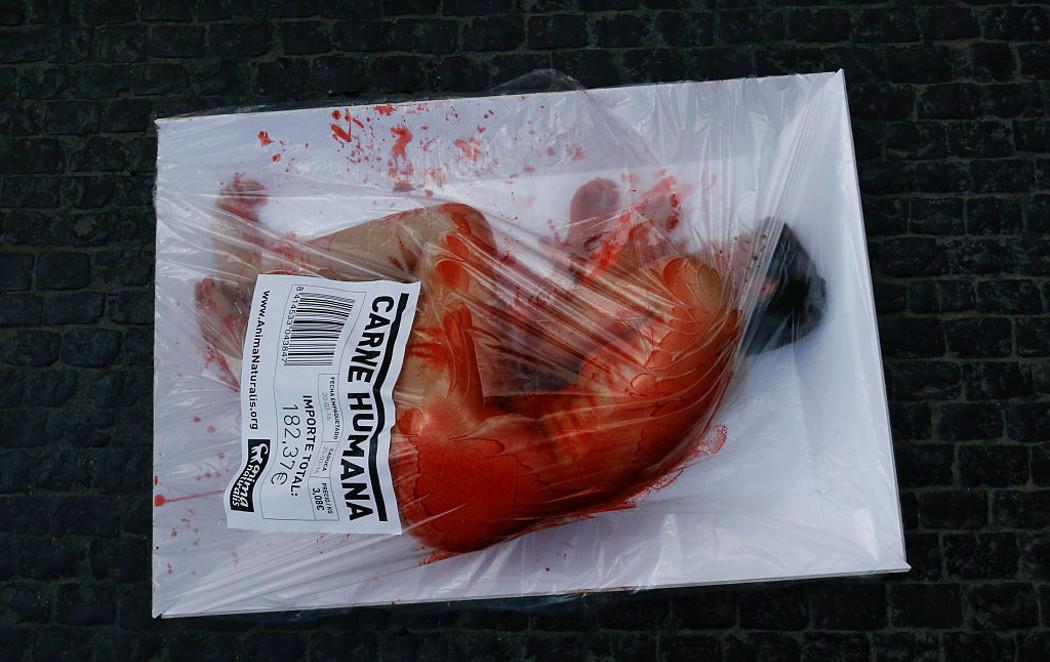 Brutal campaña de AnimaNaturalis conta la carne