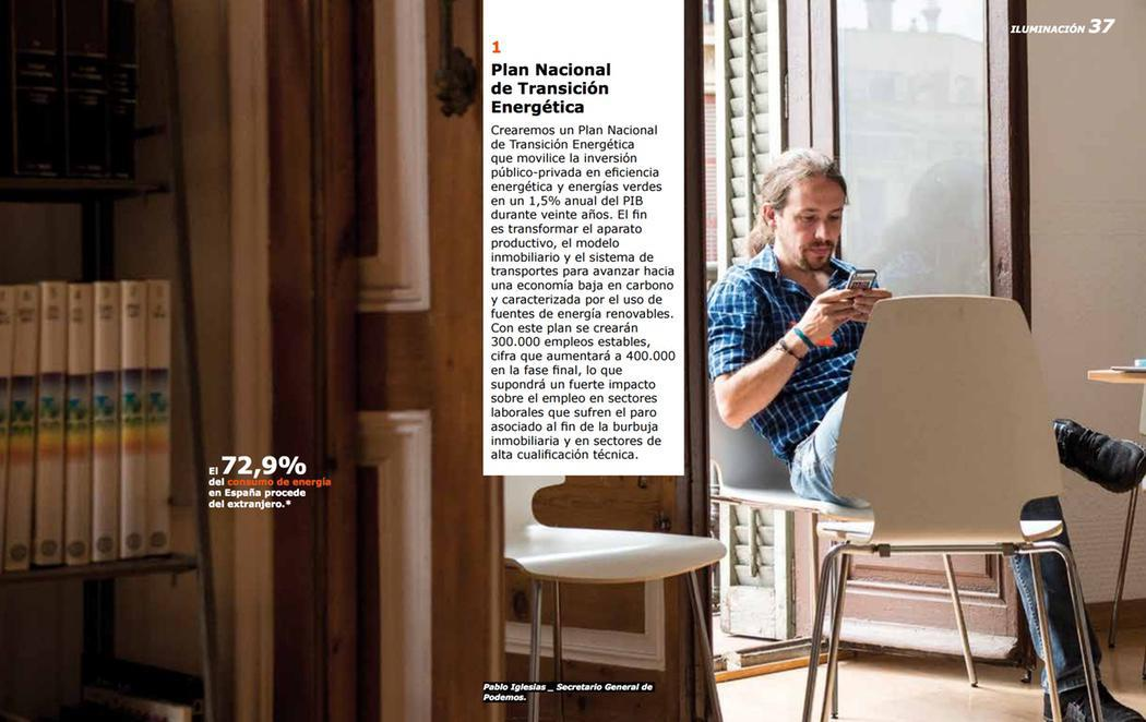 IKEA, inspiración para el programa de Podemos