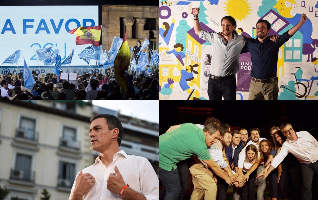 La campaña electoral más emocionante