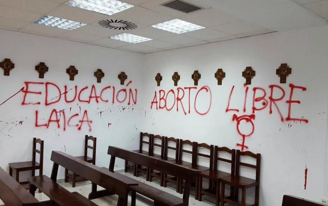Asalto a la capilla de la Universidad Autónoma