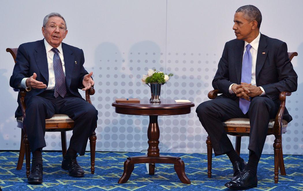 Cuba y EE.UU se sientan juntos