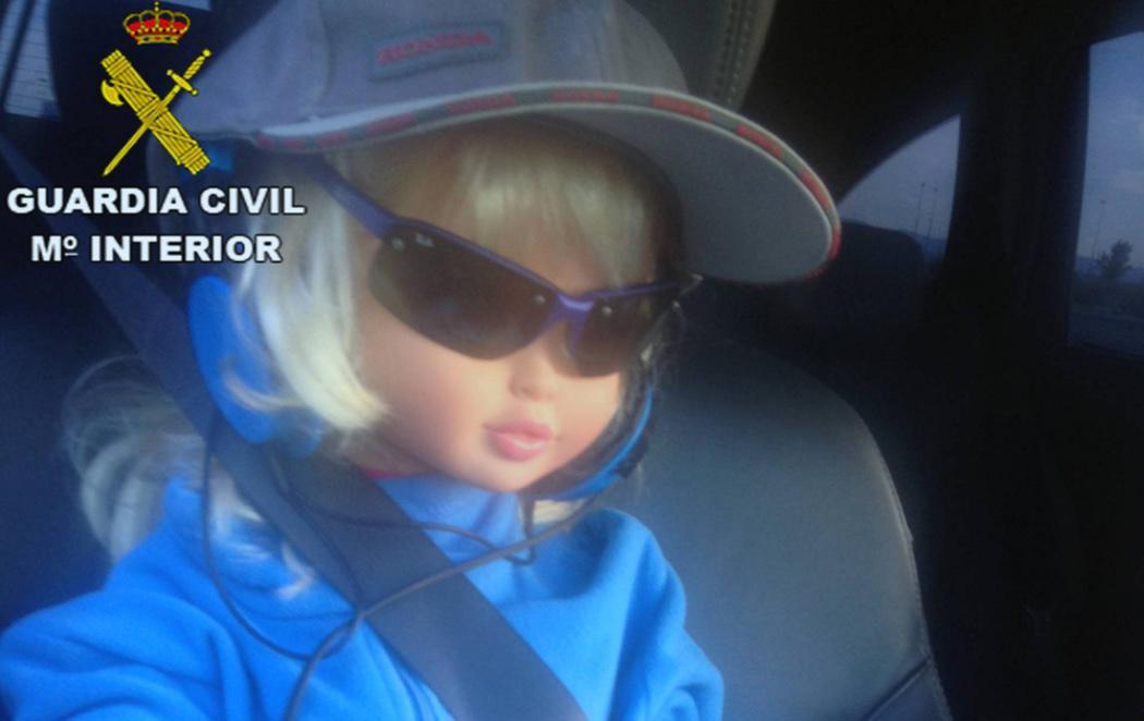 La muñeca copiloto de la A-6