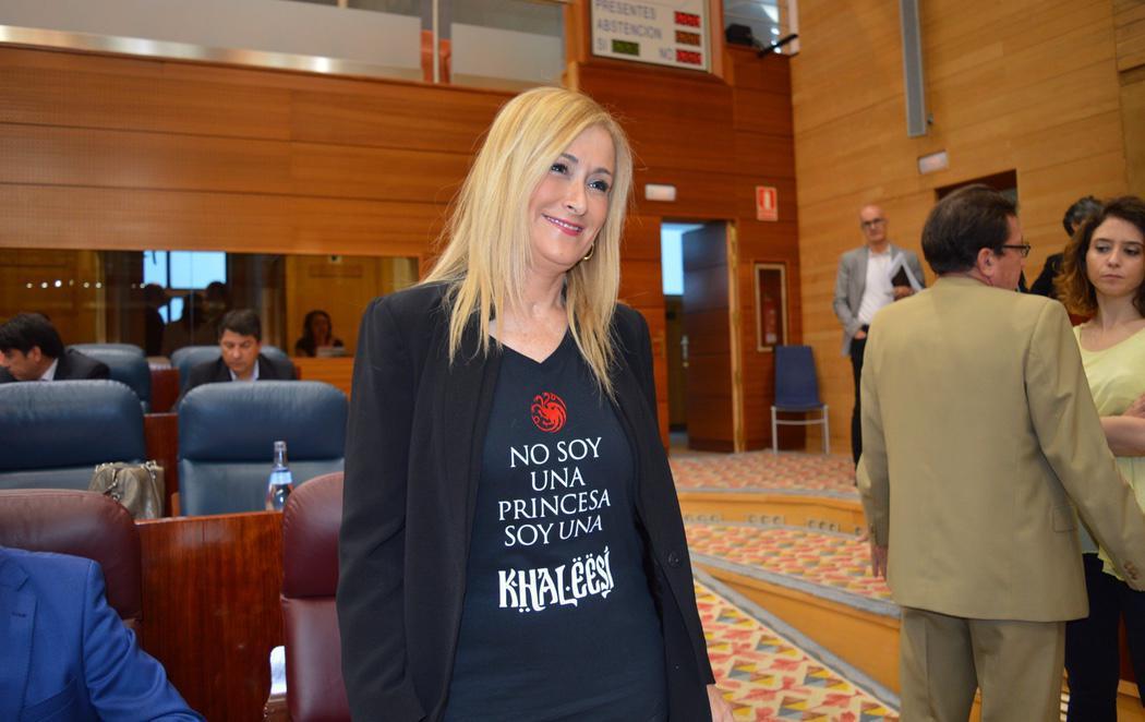 Cristina Cifuentes, la khaleesi madrileña