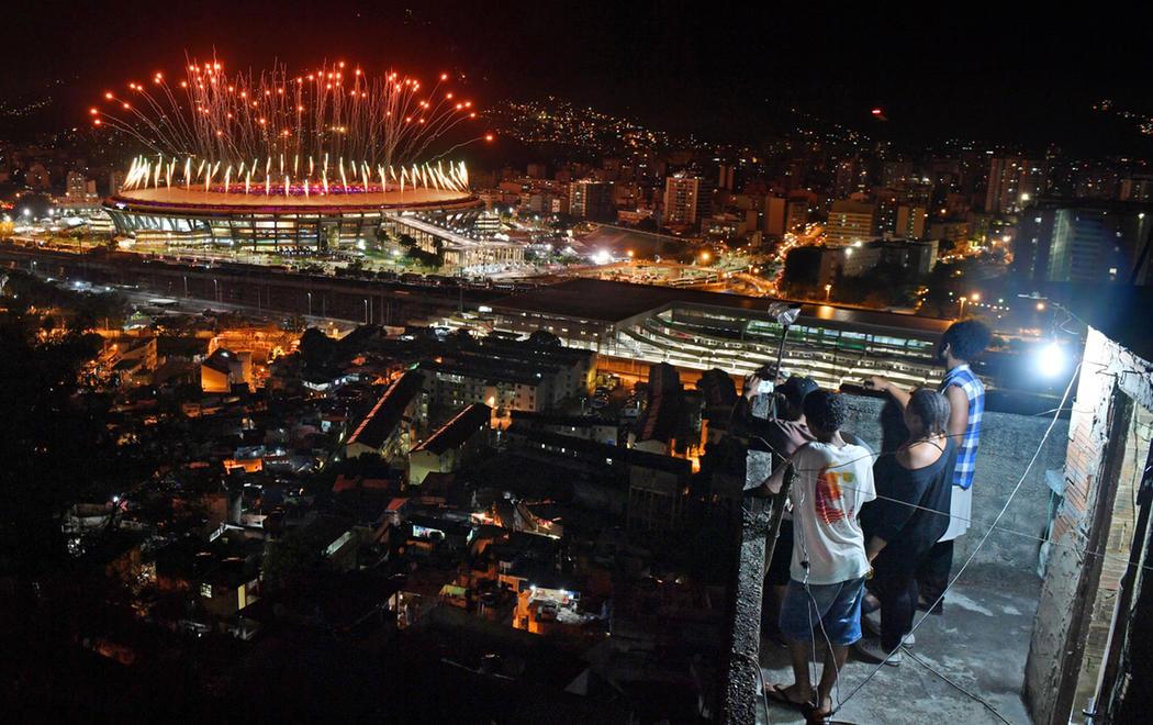 Los Juegos Olímpicos de Río vistos desde las favelas