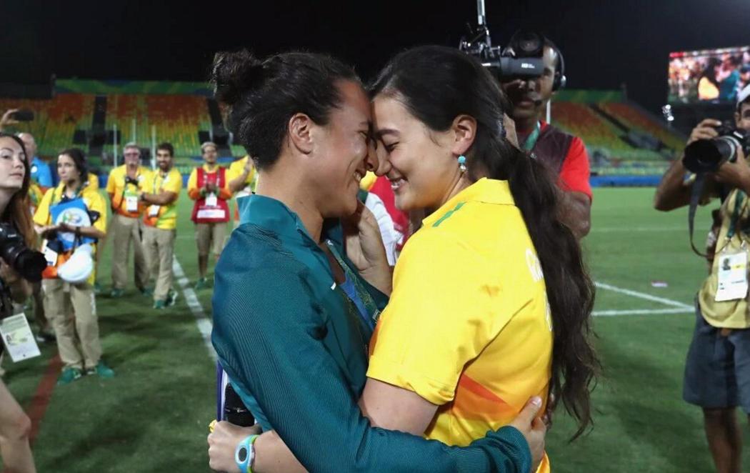 Proposición de matrimonio olímpica en Río 2016