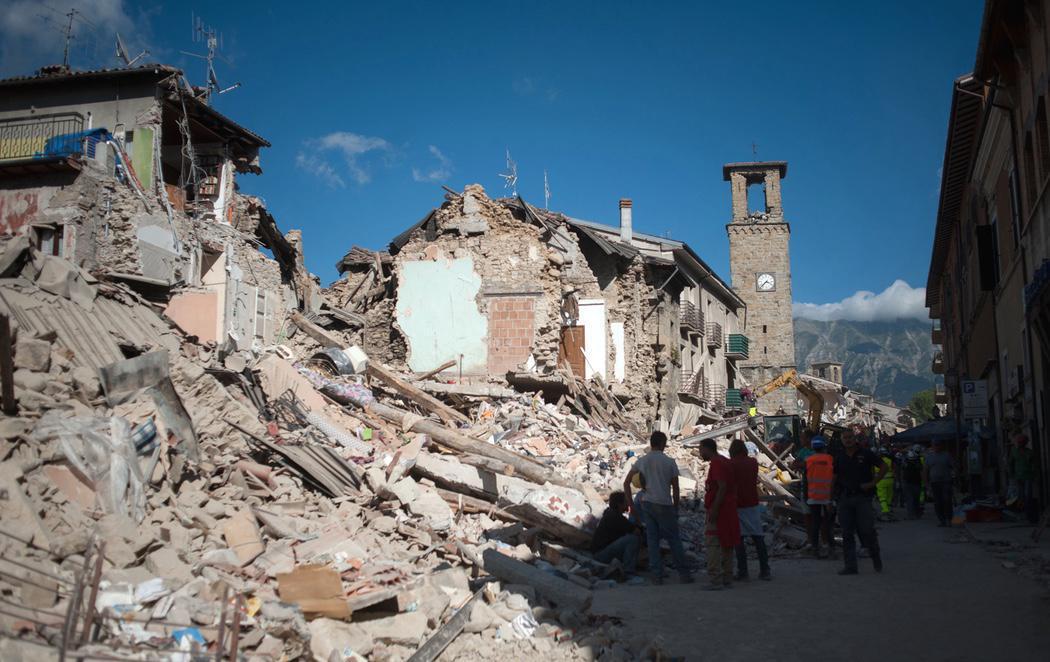 El horror continúa en Italia