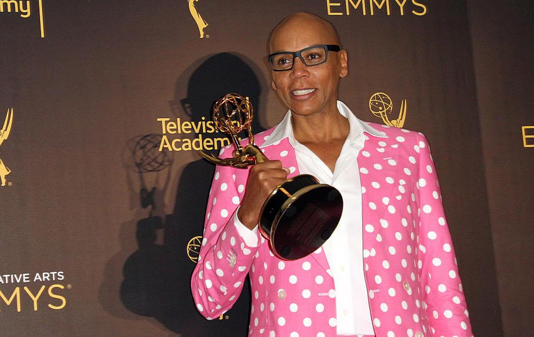 RuPaul hace historia con su premio Emmy