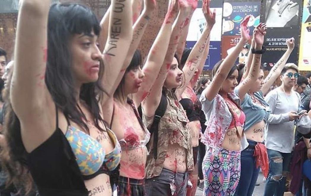 """""""Ni una menos"""": Argentina protesta contra la violencia de género"""