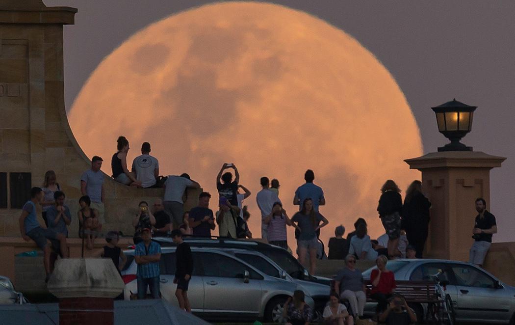 La luna más grande de los últimos 70 años