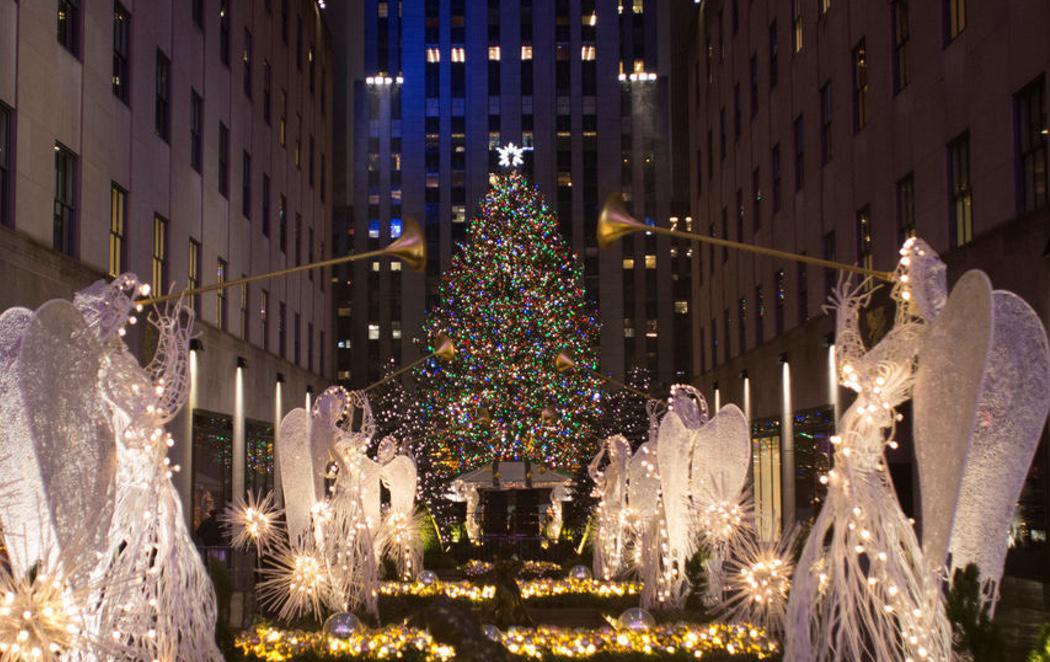 Nueva York da por inaugurada la Navidad con el encendido de su tradicional árbol
