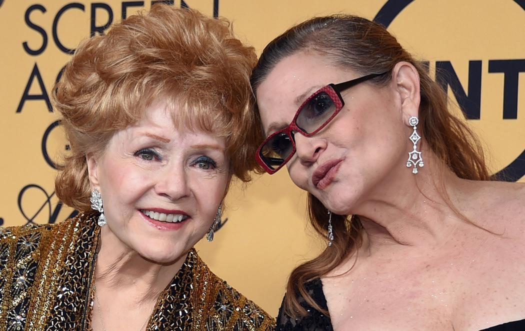 Muere la actriz Debbie Reynolds un día después del fallecimiento de su hija, Carrie Fisher