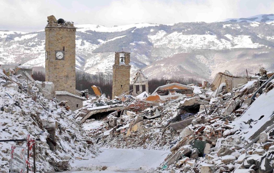 Tres nuevos terremotos sacuden el centro de Italia