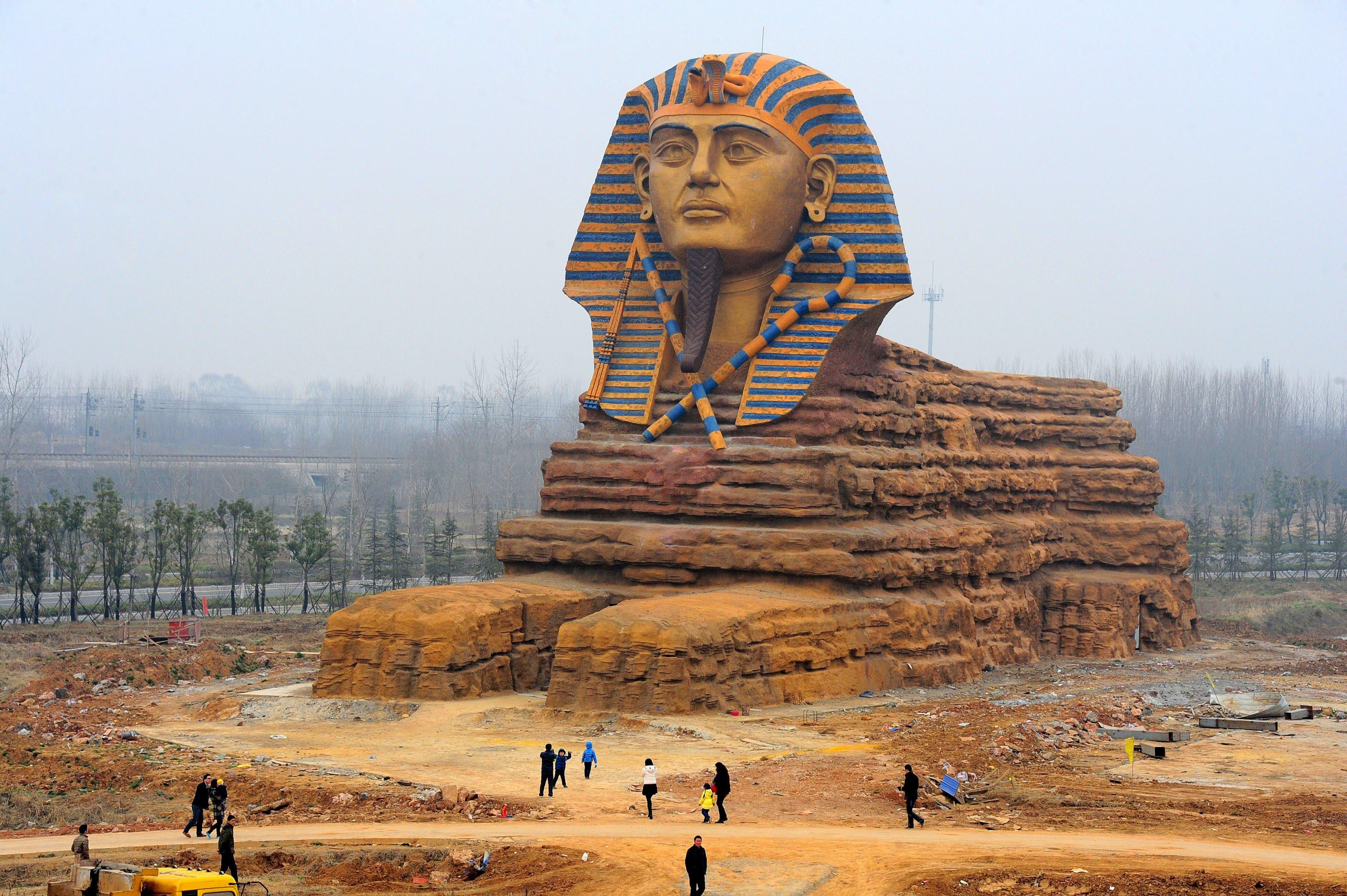 La Gran Esfinge de... China