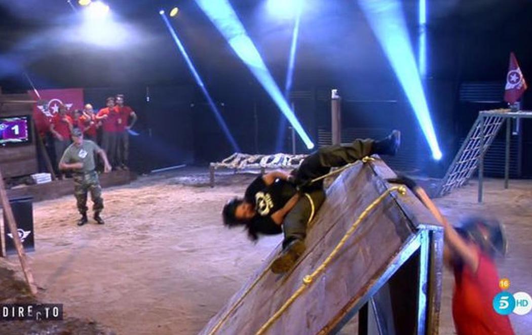 La monumental caída de Aída Nízar en 'GH VIP'