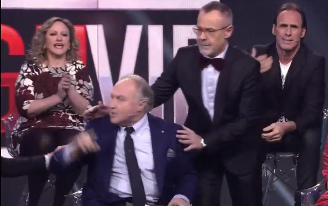 El manotazo del padre de Elettra Lamborghini a su esposa: ¿violencia machista?
