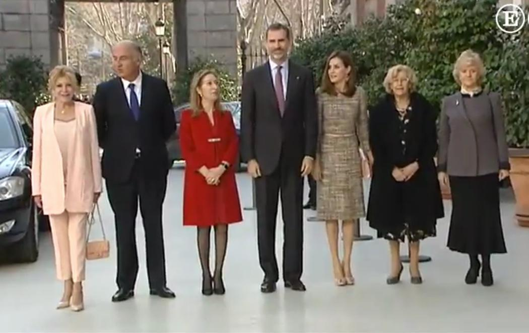 Condenan al cuñado del Rey mientras este visita el Thyssen en un acto público