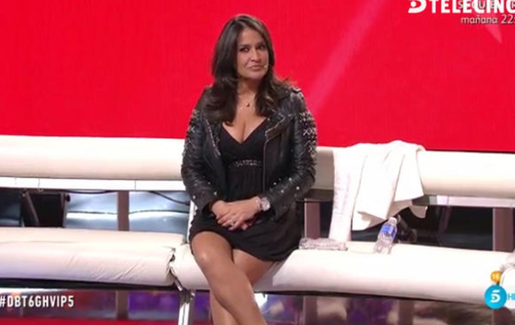 Aída Nízar logra expulsar a todos los colaboradores y se queda sola en el plató de 'GH VIP 5'