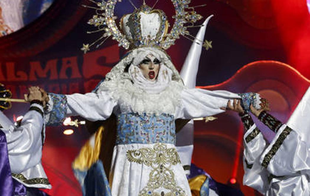 Una polémica virgen Drag se corona como la reina del carnaval de Las Palmas