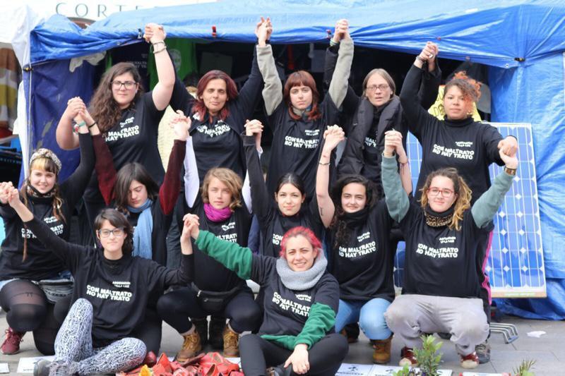 """Las """"mujeres de Sol"""" ponen fin a la huelga de hambre con su objetivo cumplido"""