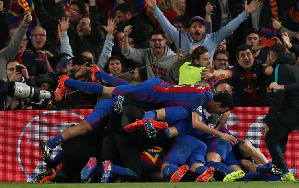 El Barça corona una remontada histórica frente al PSG (6-1)