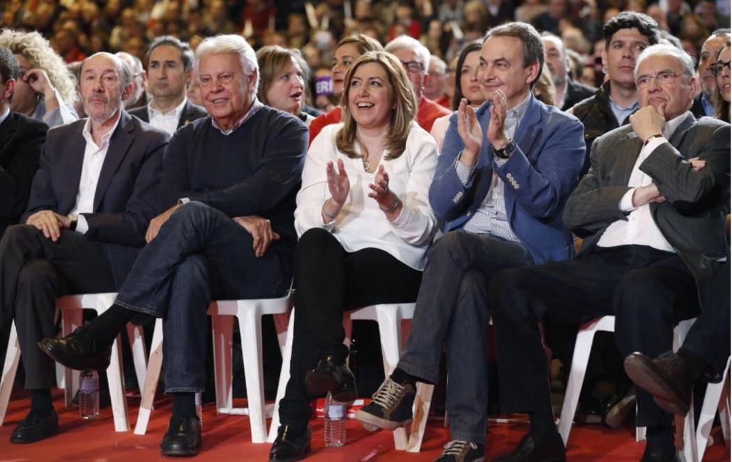 Las Nuevas Generaciones del PSOE de Susana Díaz