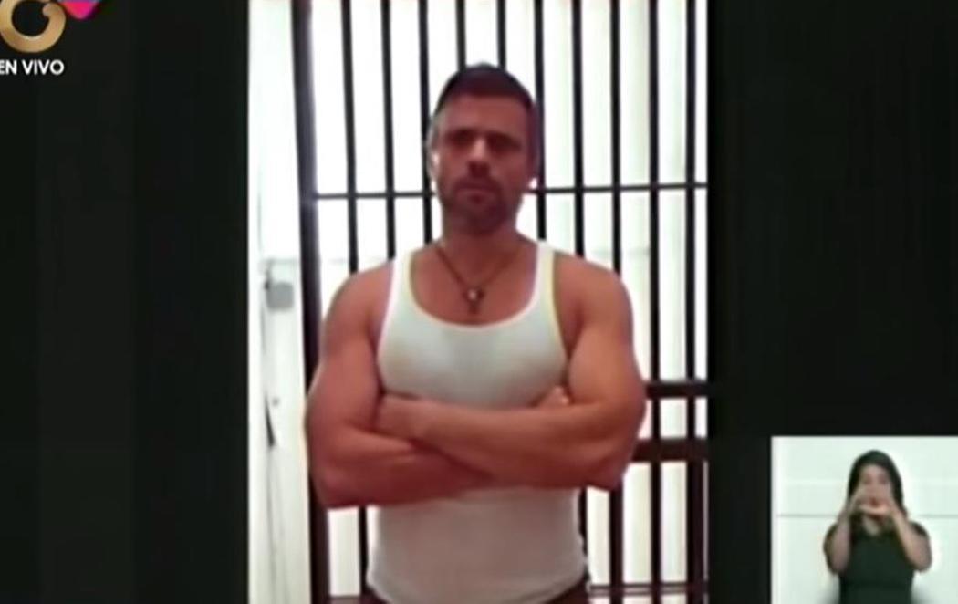 El chavismo muestra un vídeo de Leopoldo López para acallar los rumores sobre su estado de salud