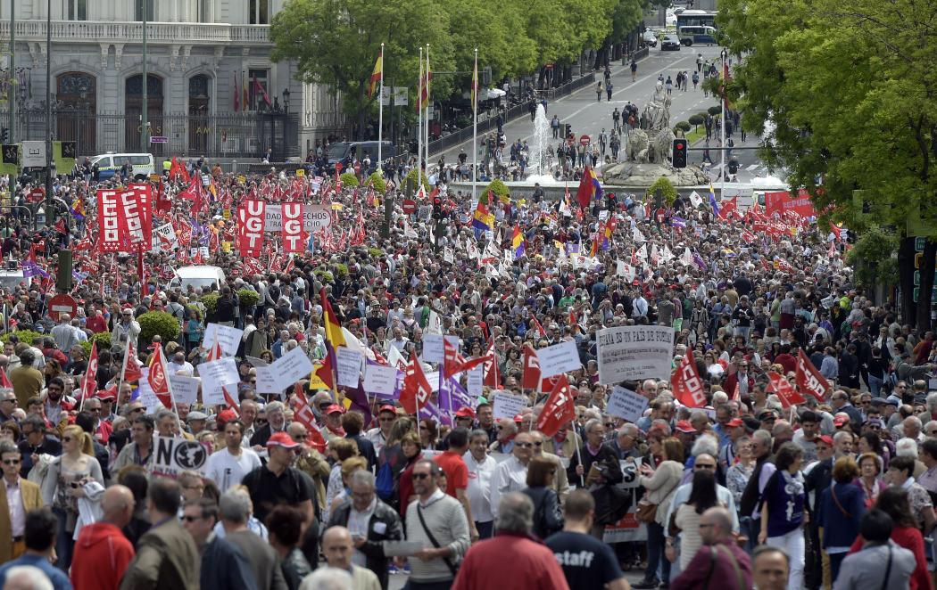 Las protestas del 1º de mayo cuando más se necesitan