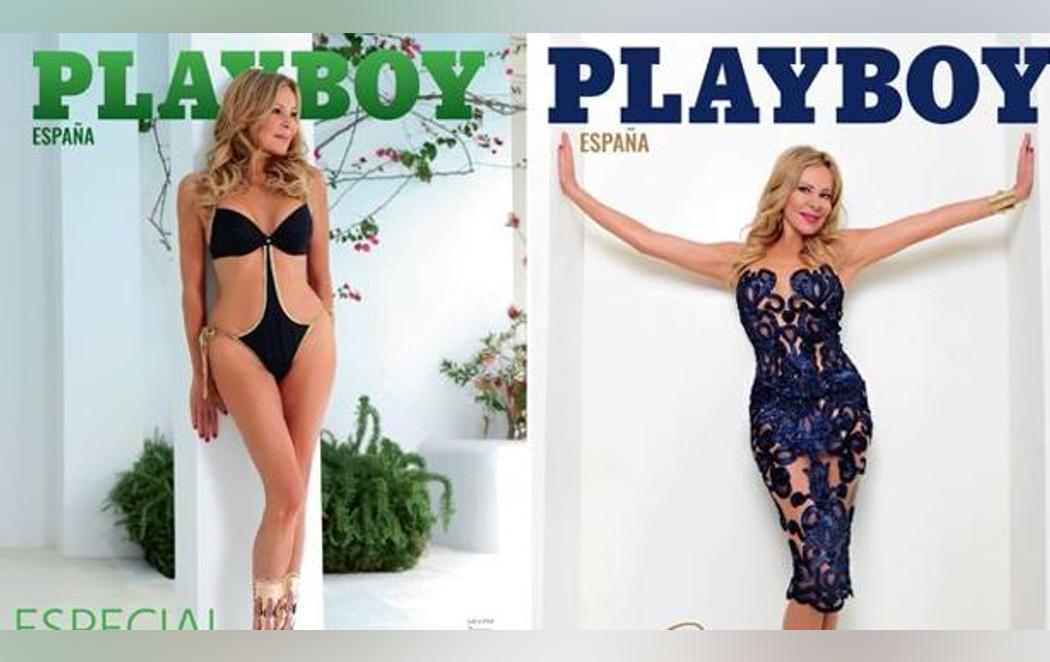 Ana Obregón se convierte en 'Conejita Playboy'