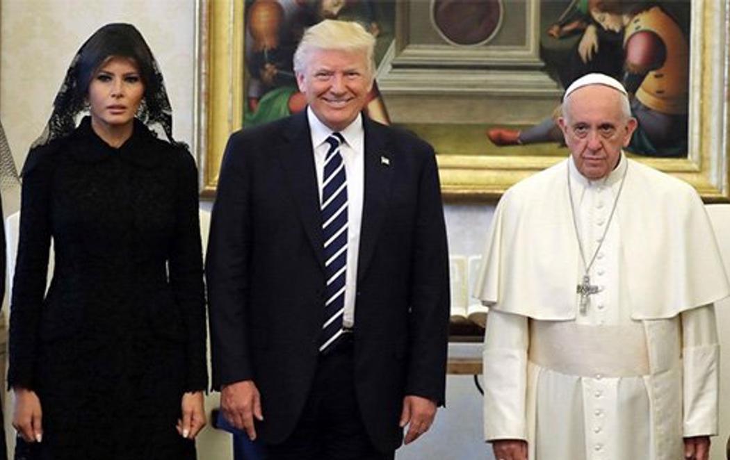 El Papa exhibe su rechazo a Donald Trump