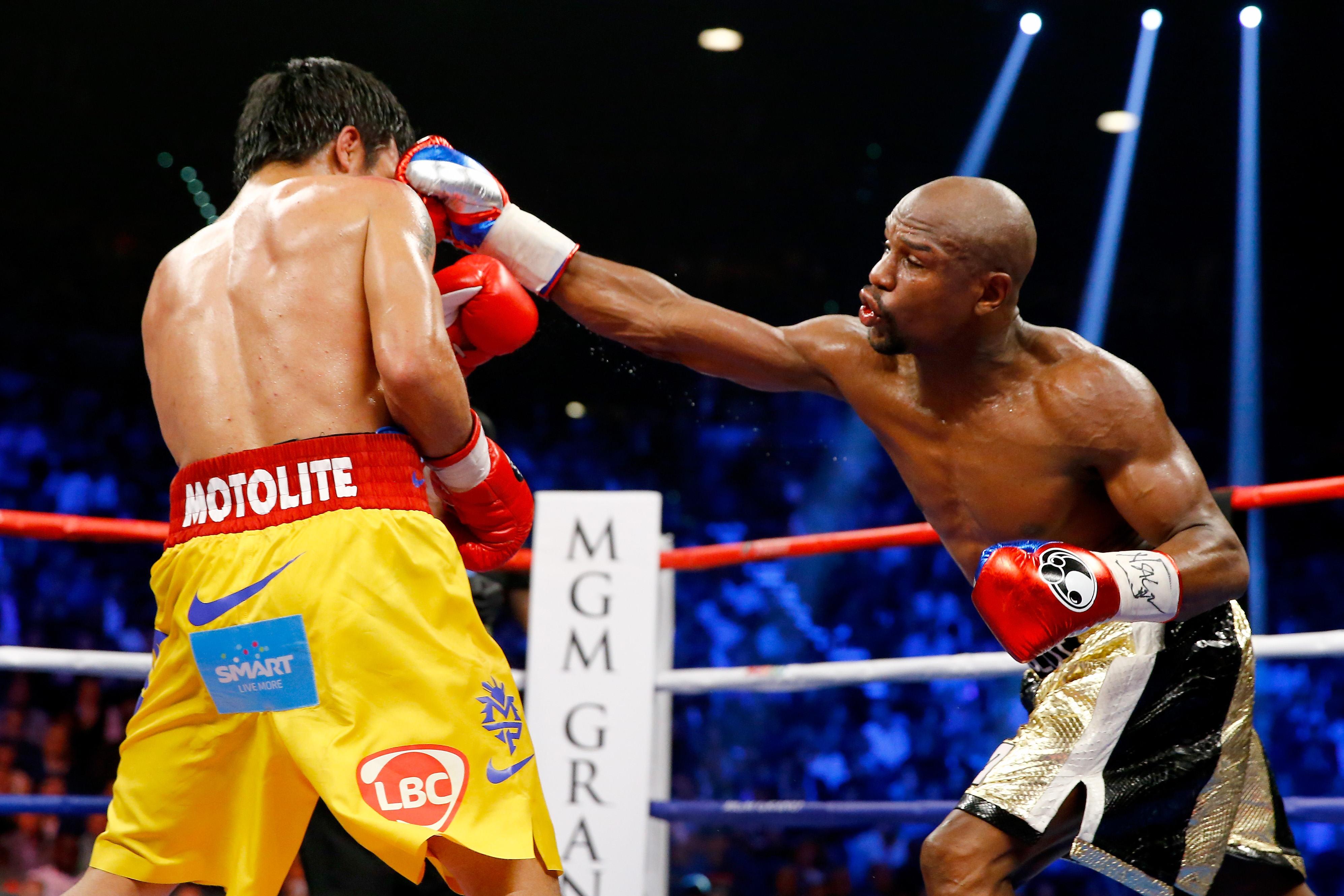Mayweather vs Pacquiao: el combate del siglo del año