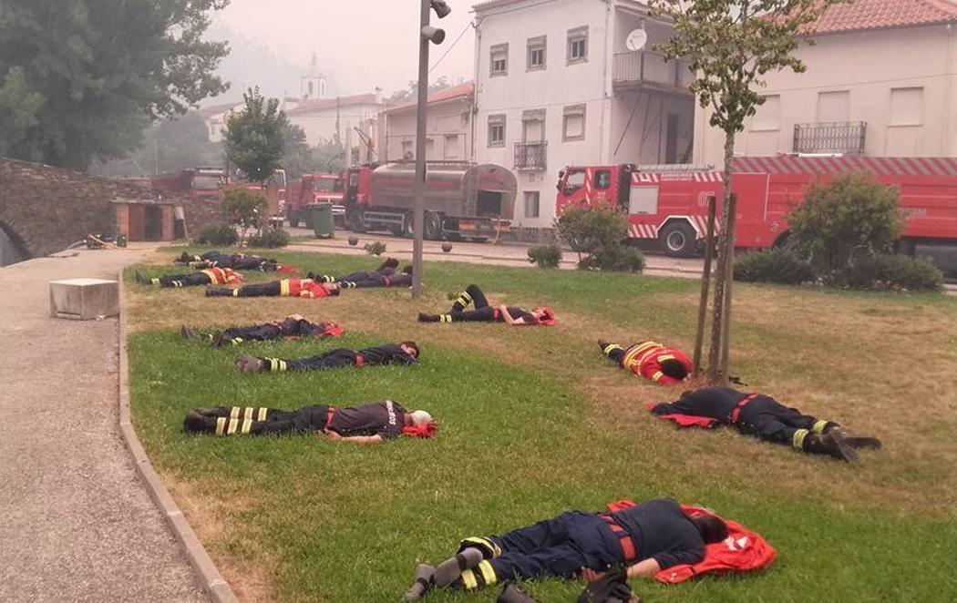 Los héroes del incendio de Portugal que jugaron su vida para salvar al resto